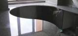 Стол и столешница из камня без шва. Мебель под заказ.