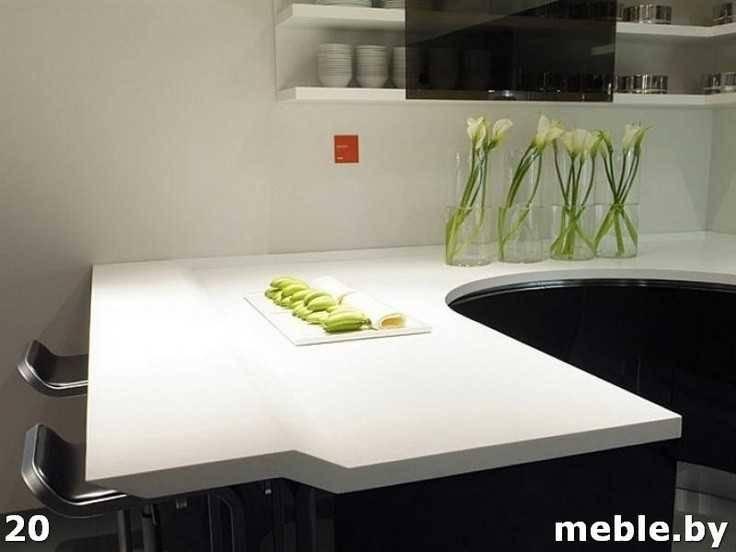 Каменная столешница на кухни. Мебель под заказ.