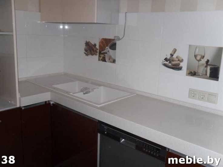 Кухонная столешница из камня под заказ. Мебель на заказ.