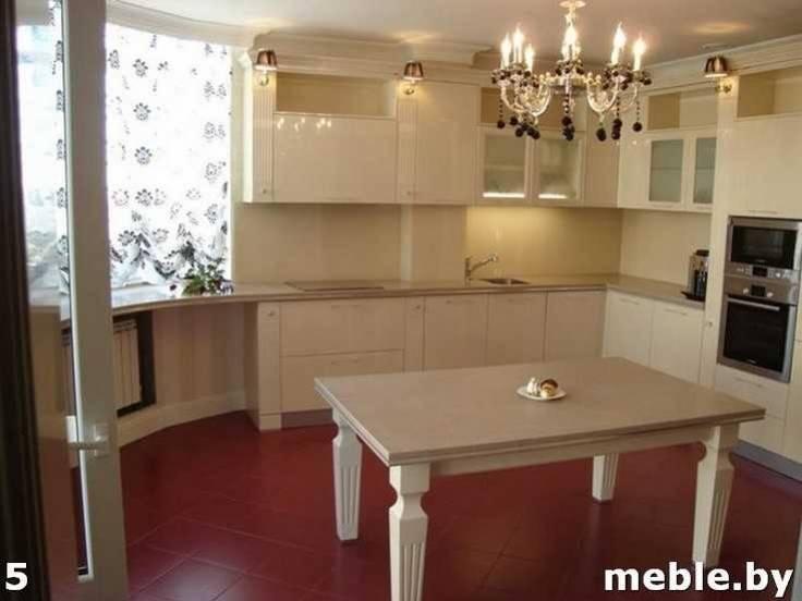 Кухонная мебель из искусственного камня. Мебель под заказ.