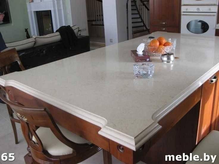 Кухонная мебель из камня. Мебель под заказ.