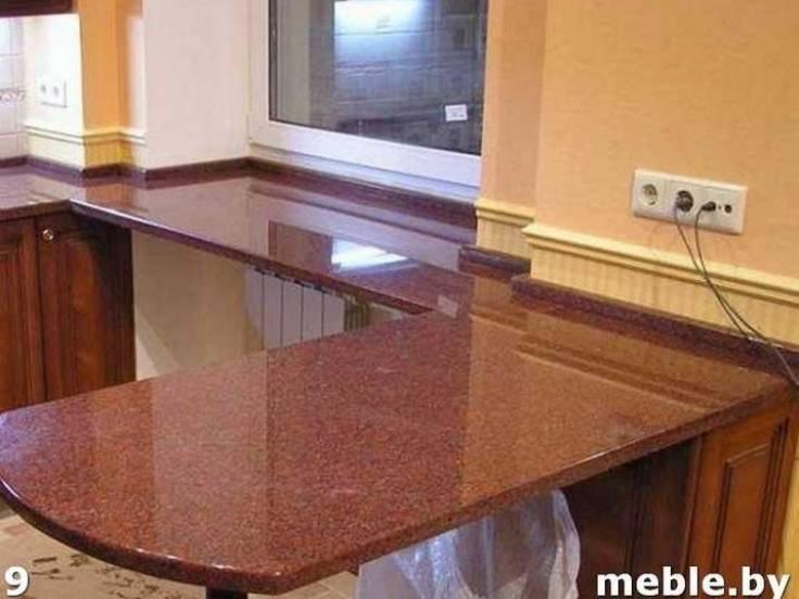 Искусственный камень под заказ для кухни. Мебель под заказ.