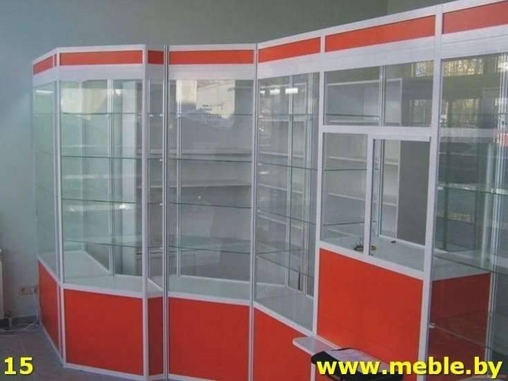 Торговое оборудование по индивидуальному проекту. Мебель под заказ.