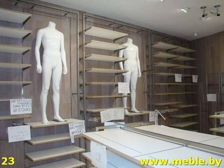 Торговое оборудование из ДСП на заказ. Мебель под заказ.