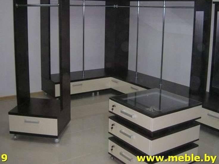 Торговое оборудование из ДСП. Мебель под заказ.