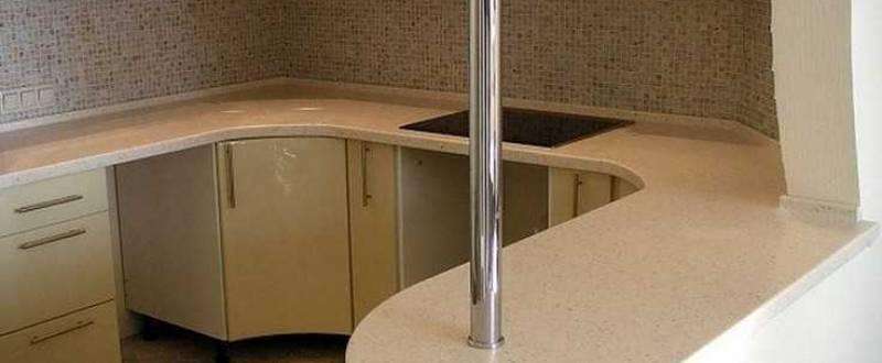 Искусственный камень для кухни. Мебель под заказ.