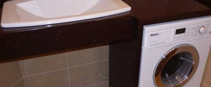 Столешница для ванной комнаты. Мебель на заказ.