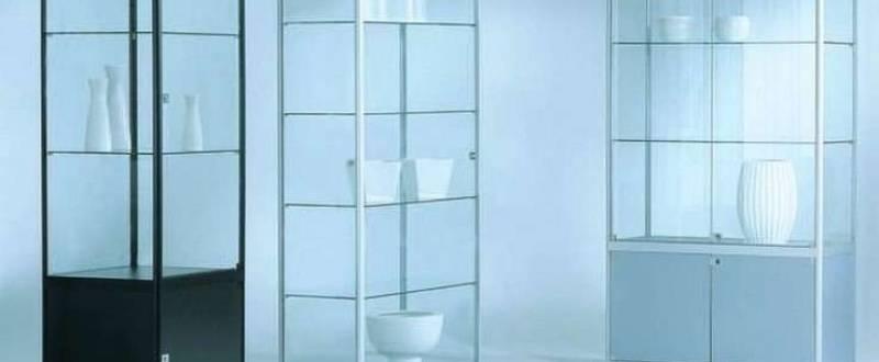 Торговое оборудование из стекла под заказ.  Мебель под заказ.